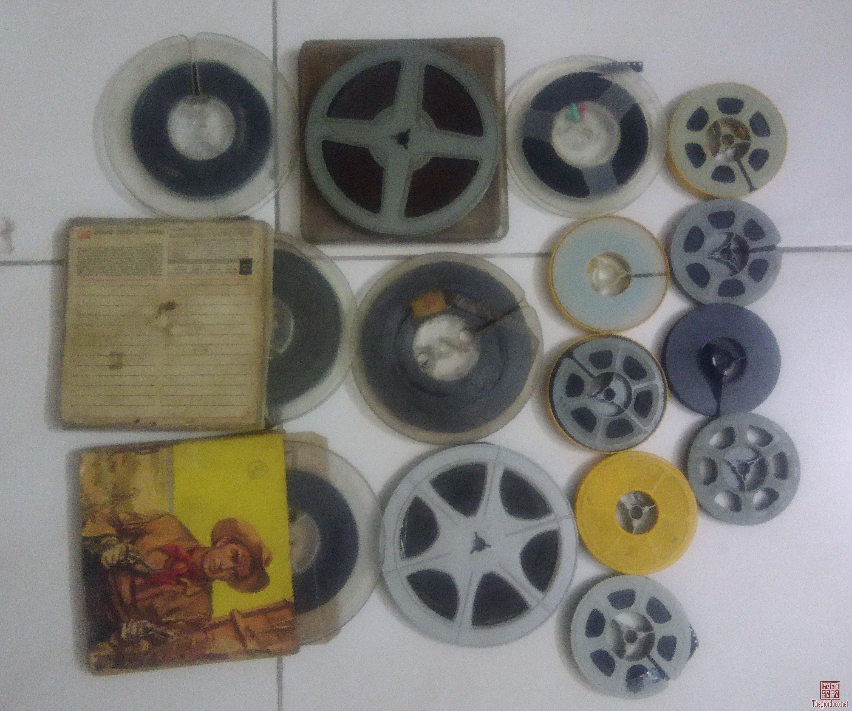15 phim xưa 8mm loại vừa và nhỏ