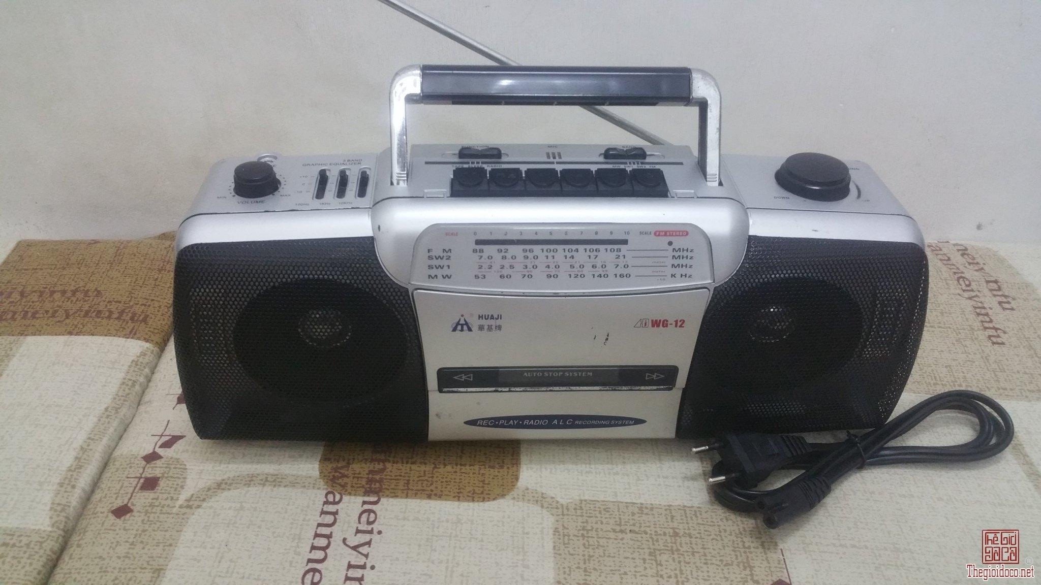 Đài Radio Trung Quốc xưa HUAJI...