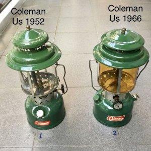 đèn măng xông Cổ Coleman Usa...