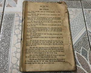 Sách xưa Diễn Cầm Tam Thế