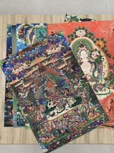 Tranh Phật Mật Tông Cổ Xưa Bền...