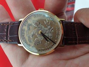 Đồng hồ đồng xu SANDOZ xưa...