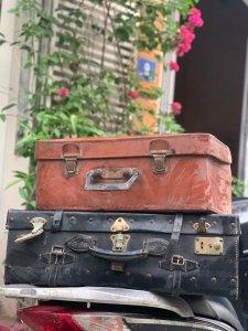 Một số vali nga sách cũ deco...