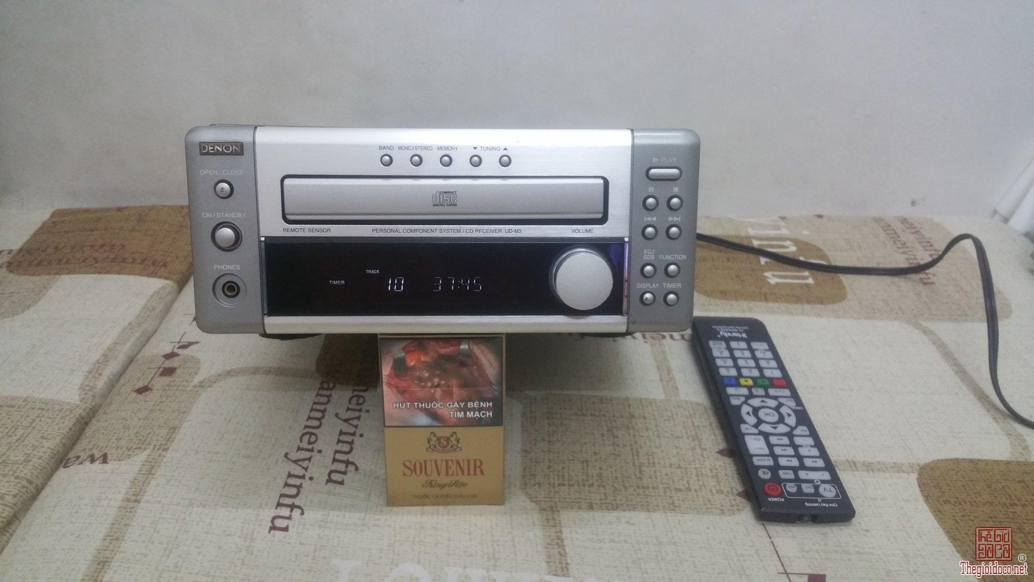 Ampli tích hợp đĩa CD và nghe Radio DENON UD-M3