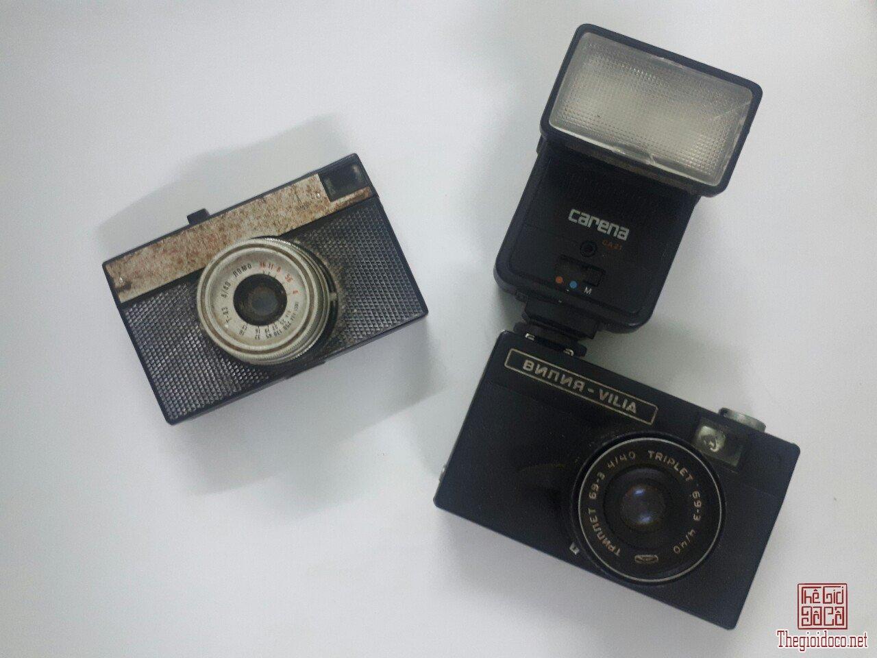 Máy ảnh Liên Xô xưa