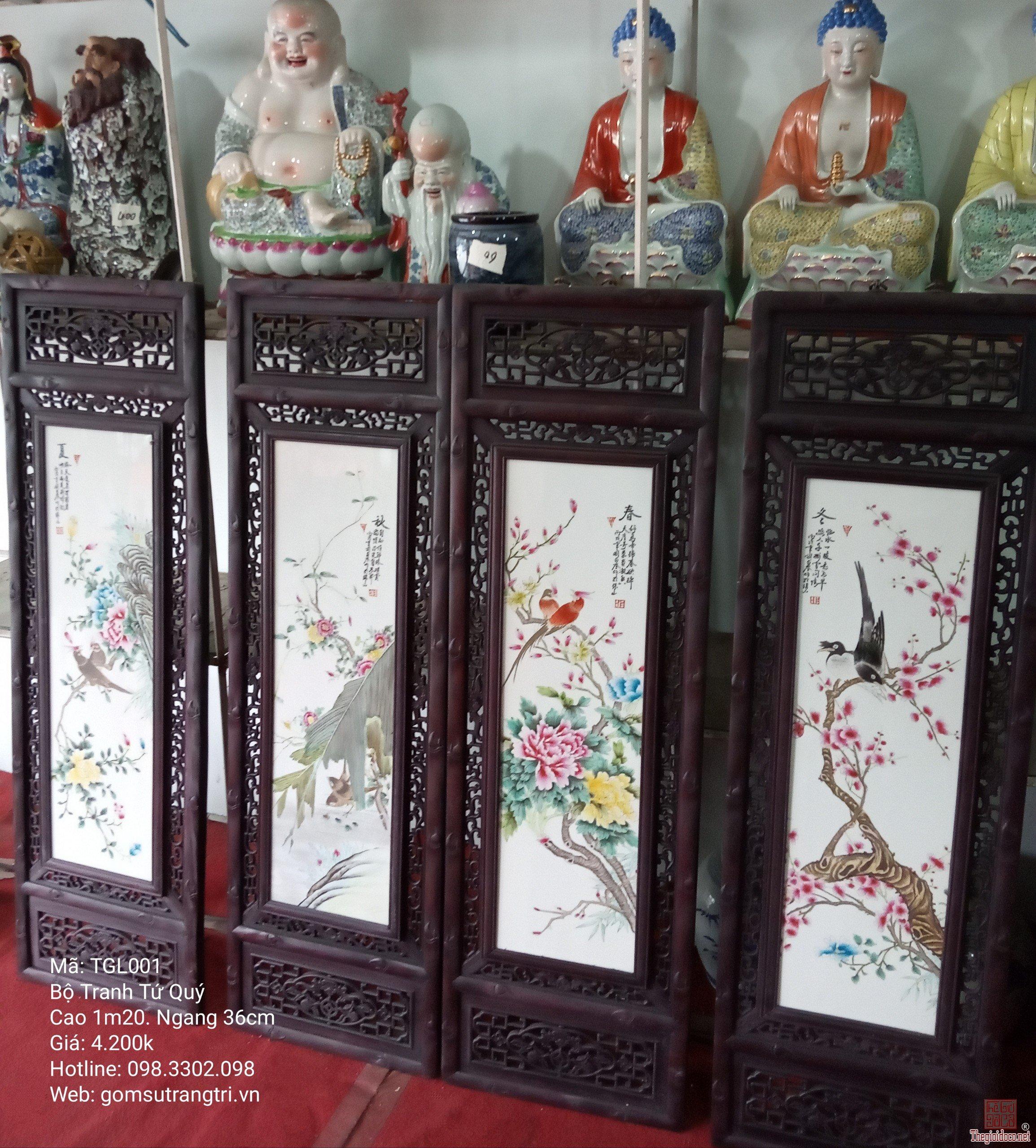 Một số mẫu tranh Sứ tại gomsutrangtri.vn