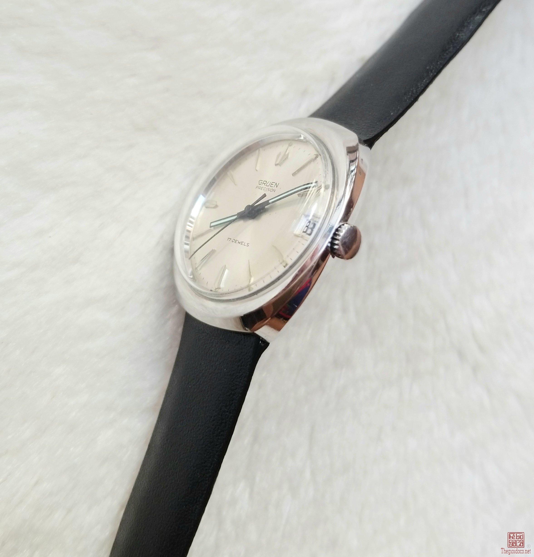 Đồng hồ xưa lên dây GRUEN Thụy Sỹ