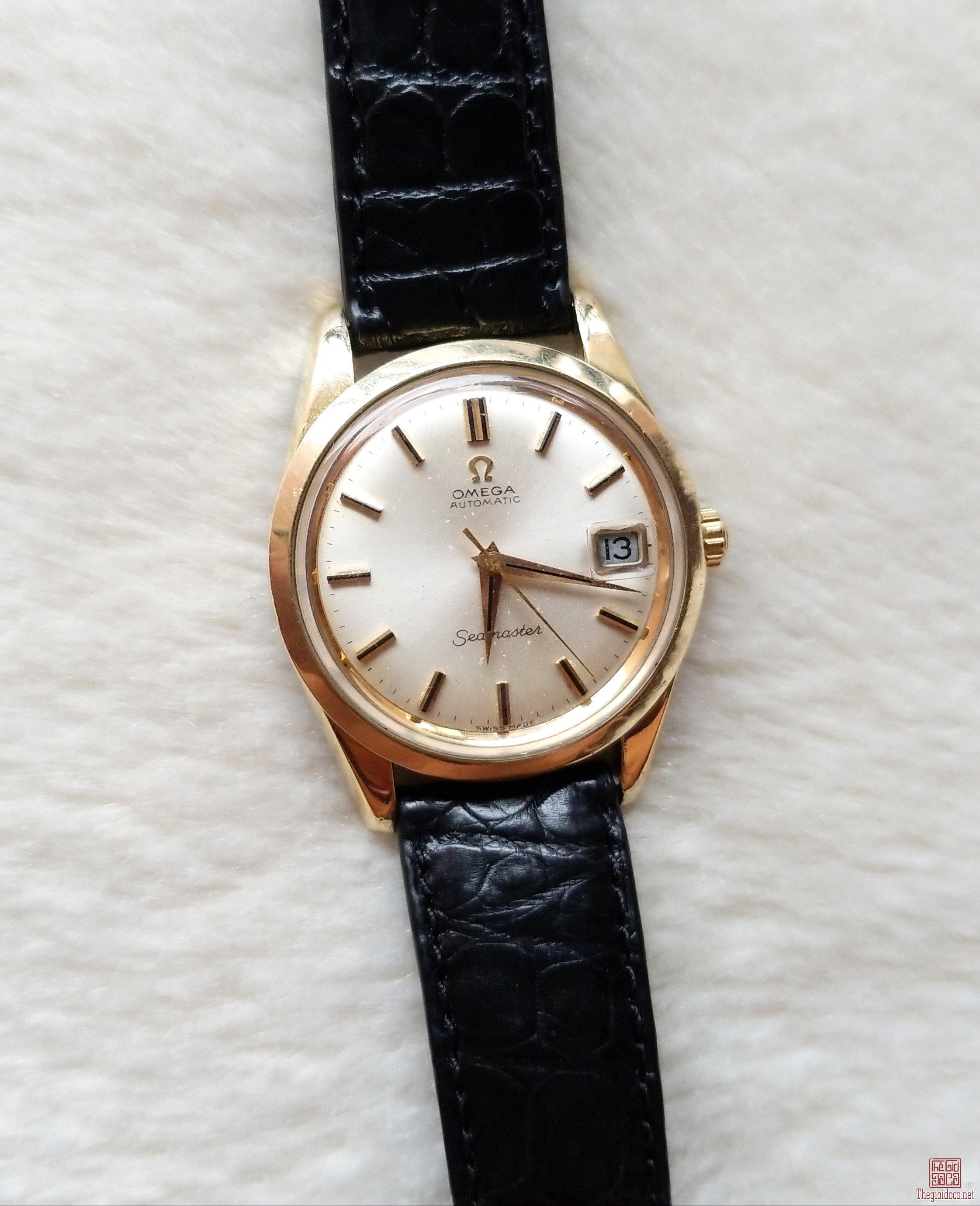 Đồng hồ xưa tự động OMEGA SEAMASTER Thụy Sỹ