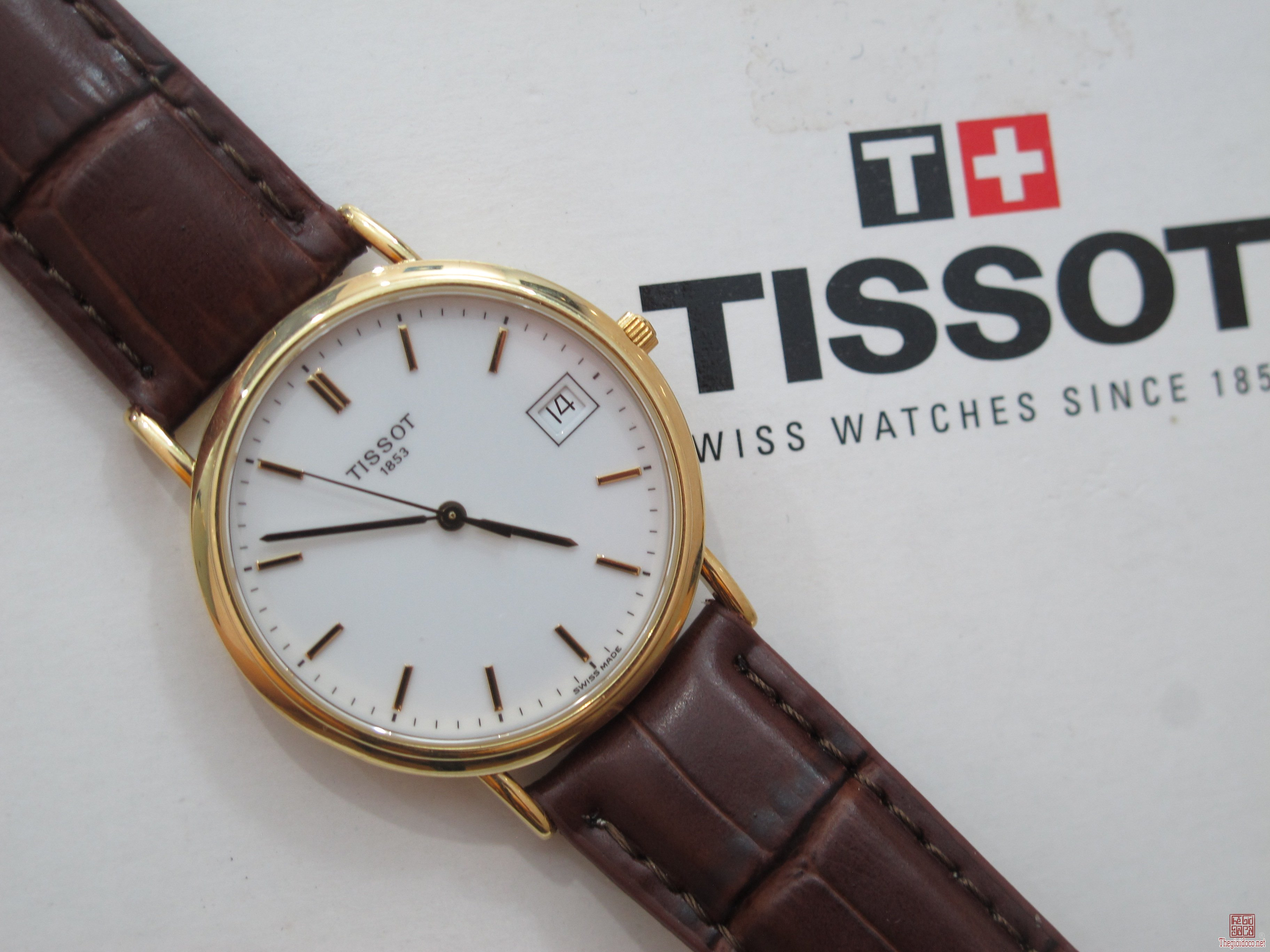 Đồng hồ TISSOT vàng khối 18K Size 33.5 mm Full hộp sách