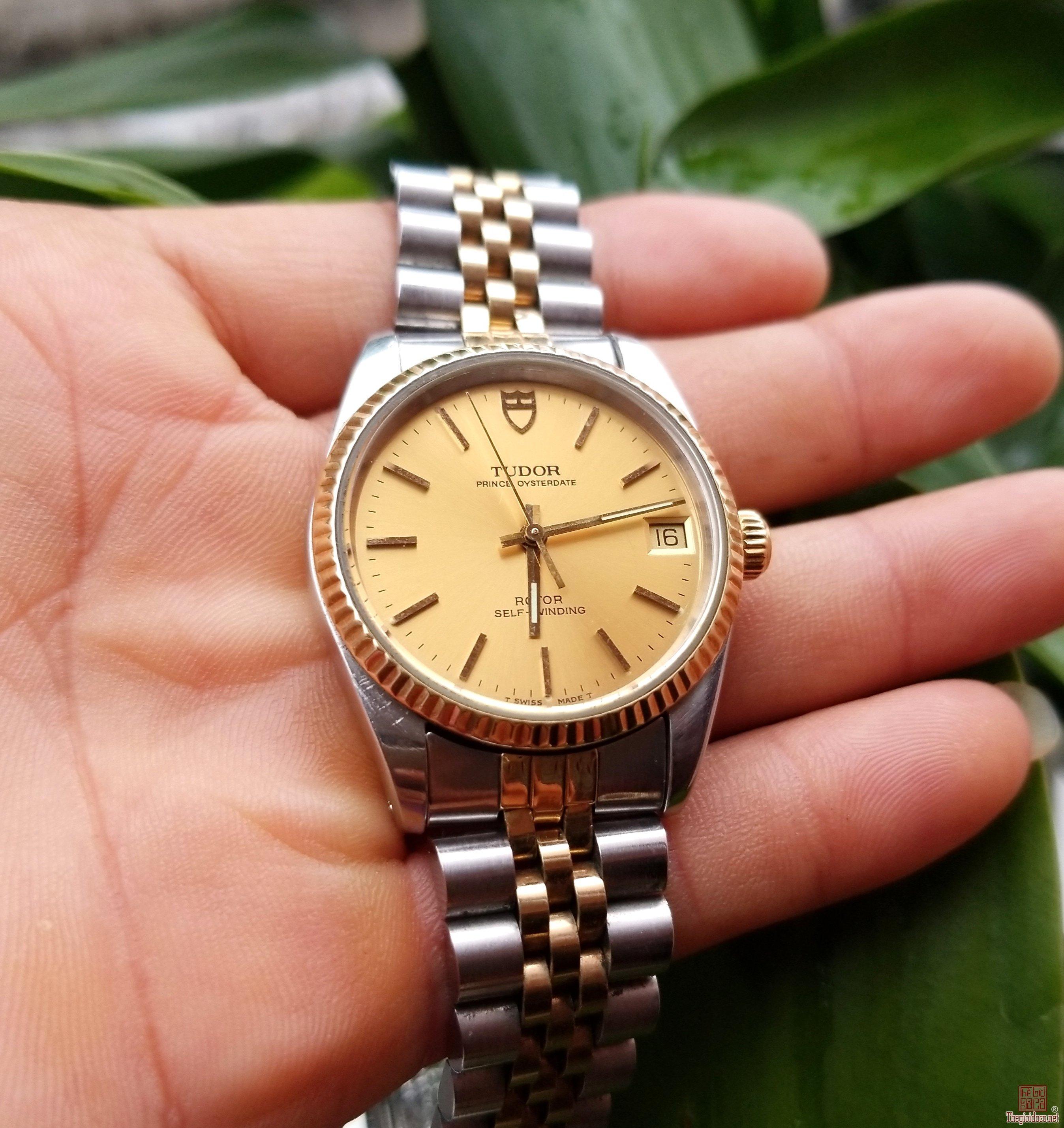 Đồng hồ xưa tự động TUDOR - ROLEX Thụy Sỹ