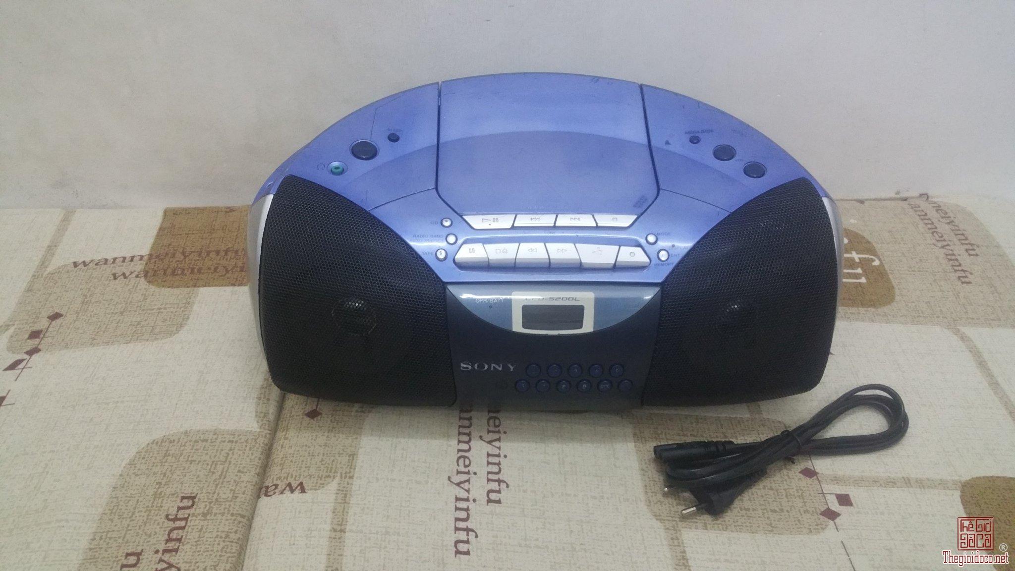 Đài Sony CFD-S200L nghe Radio FM rất tốt