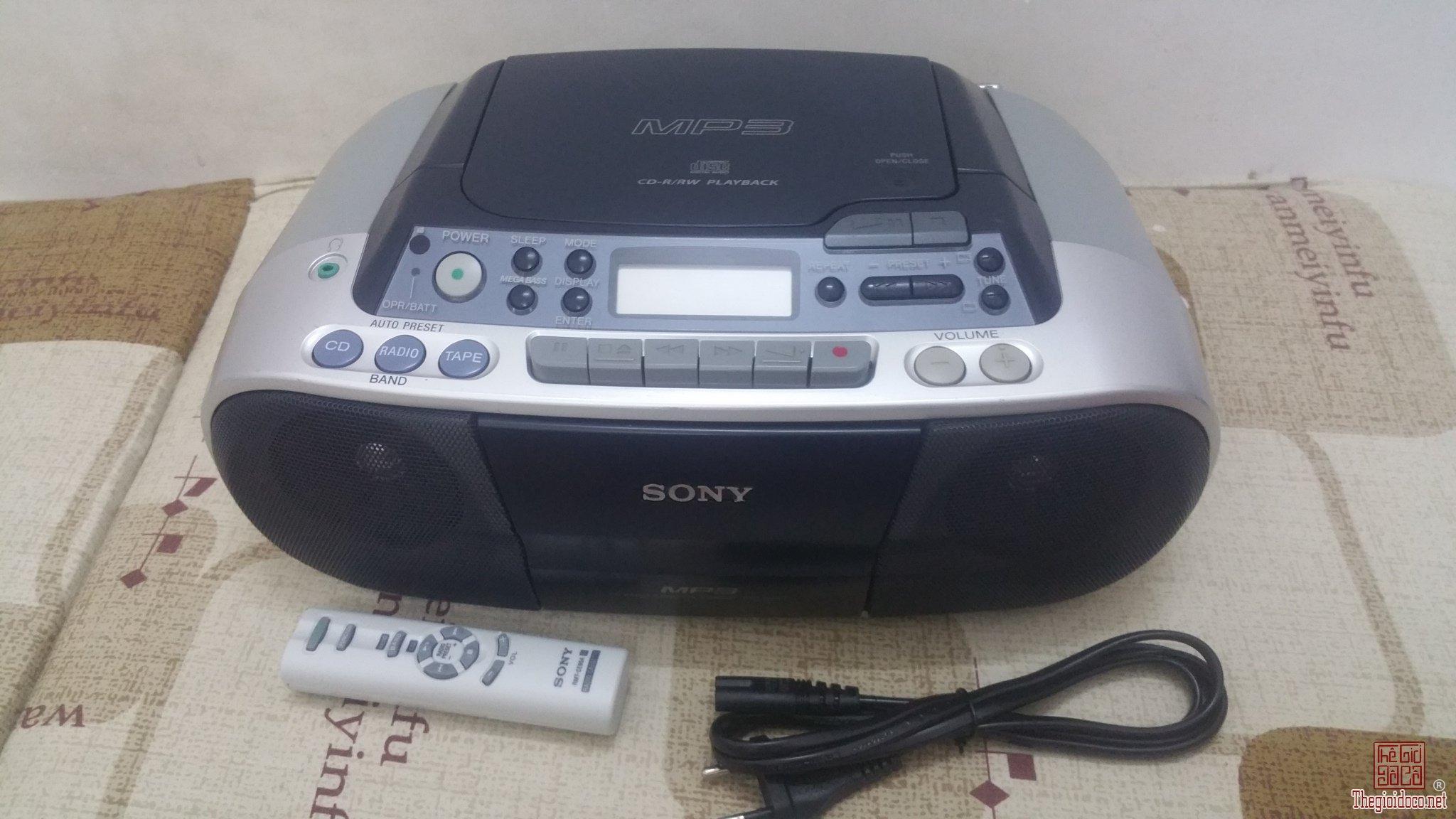 Đài đĩa CD Sony CFD-S03 học...