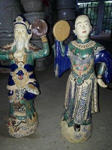 Tượng Ông Tơ Bà Nguyệt cao 60cm...