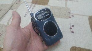 Radio mini bỏ túi rất mới đẹp,...
