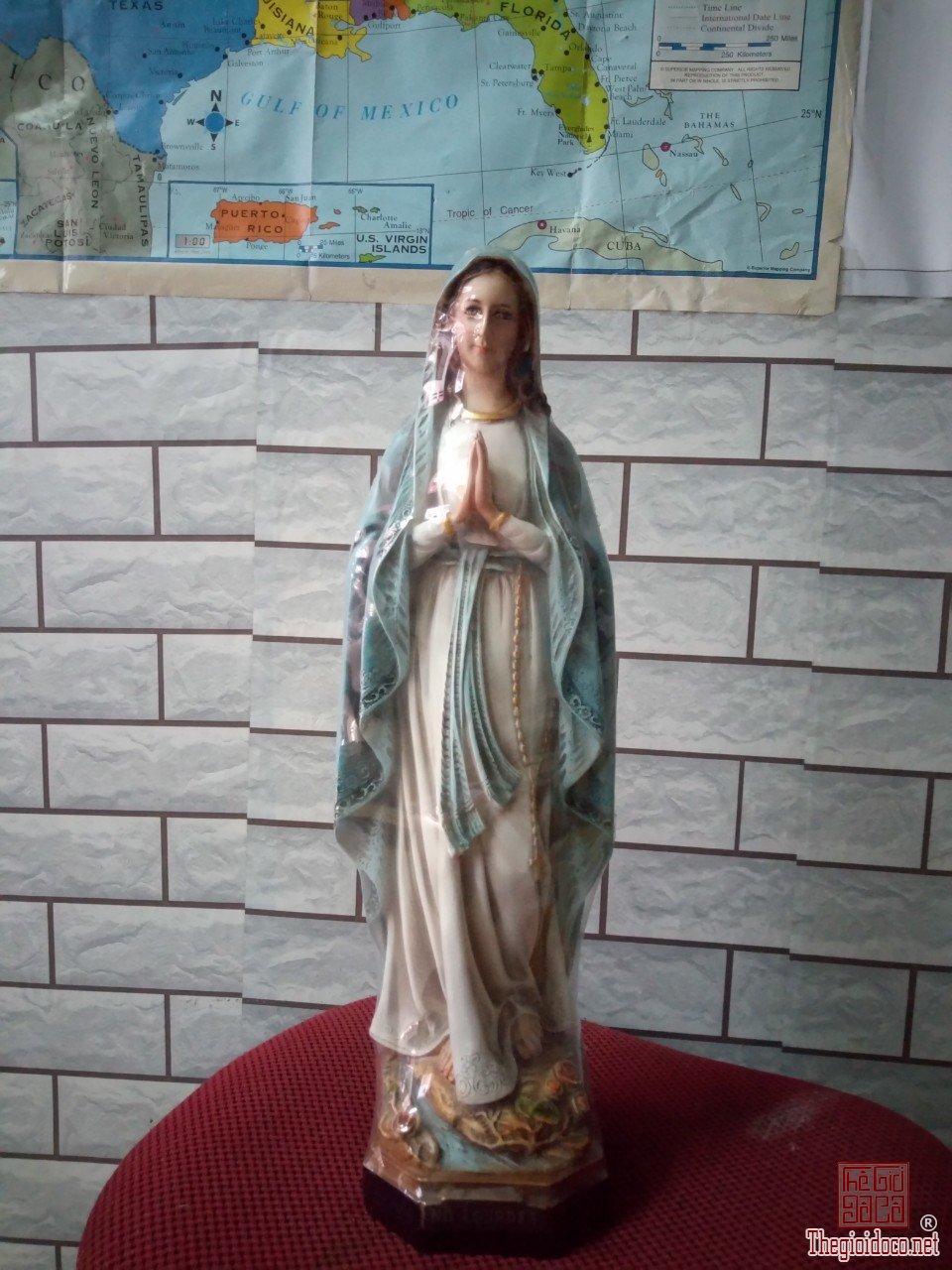 tượng đức mẹ lộ đức cao 40 cm