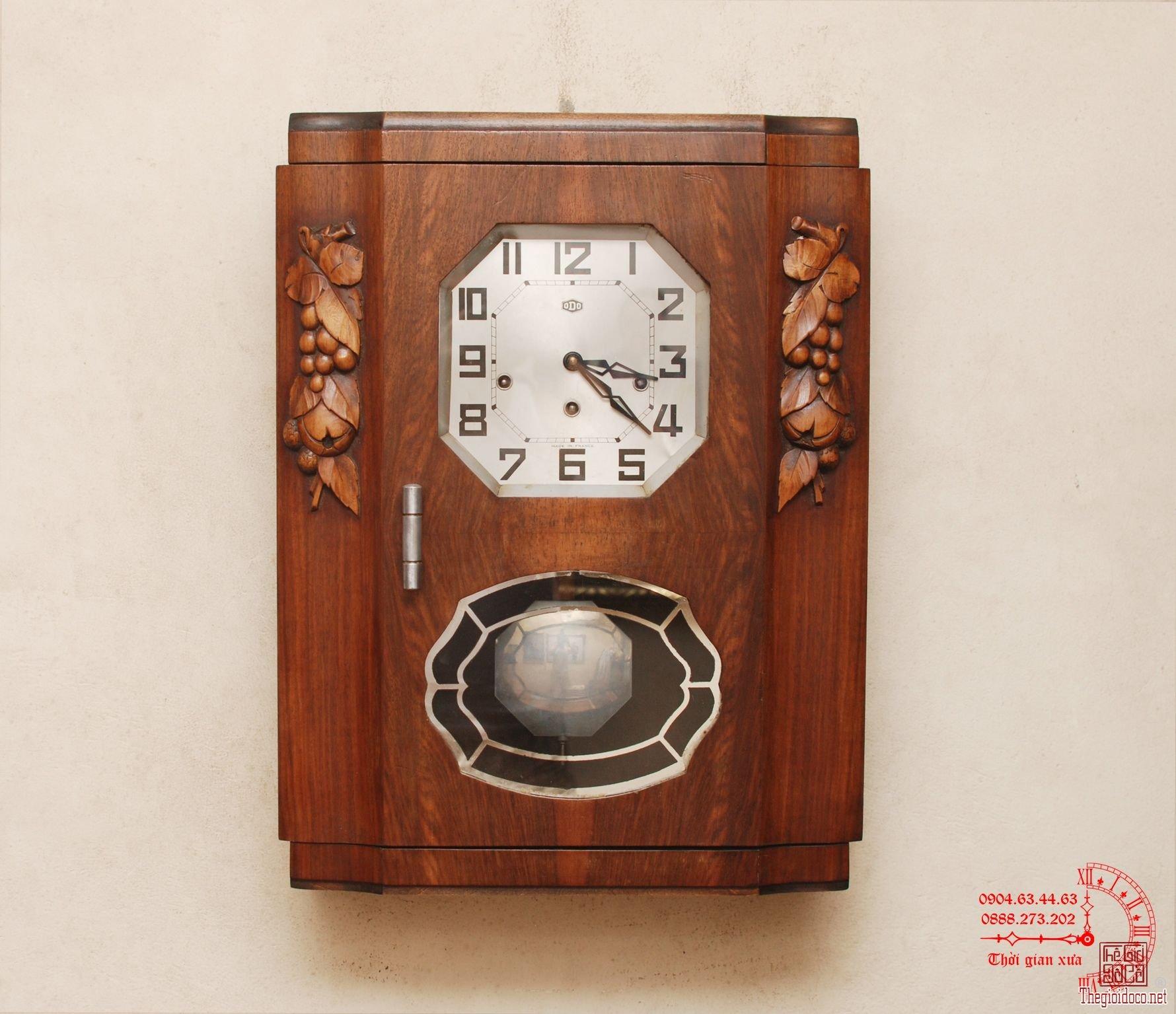 Đồng hồ ODO đời 30, 8 gông đồng (mã 74P)