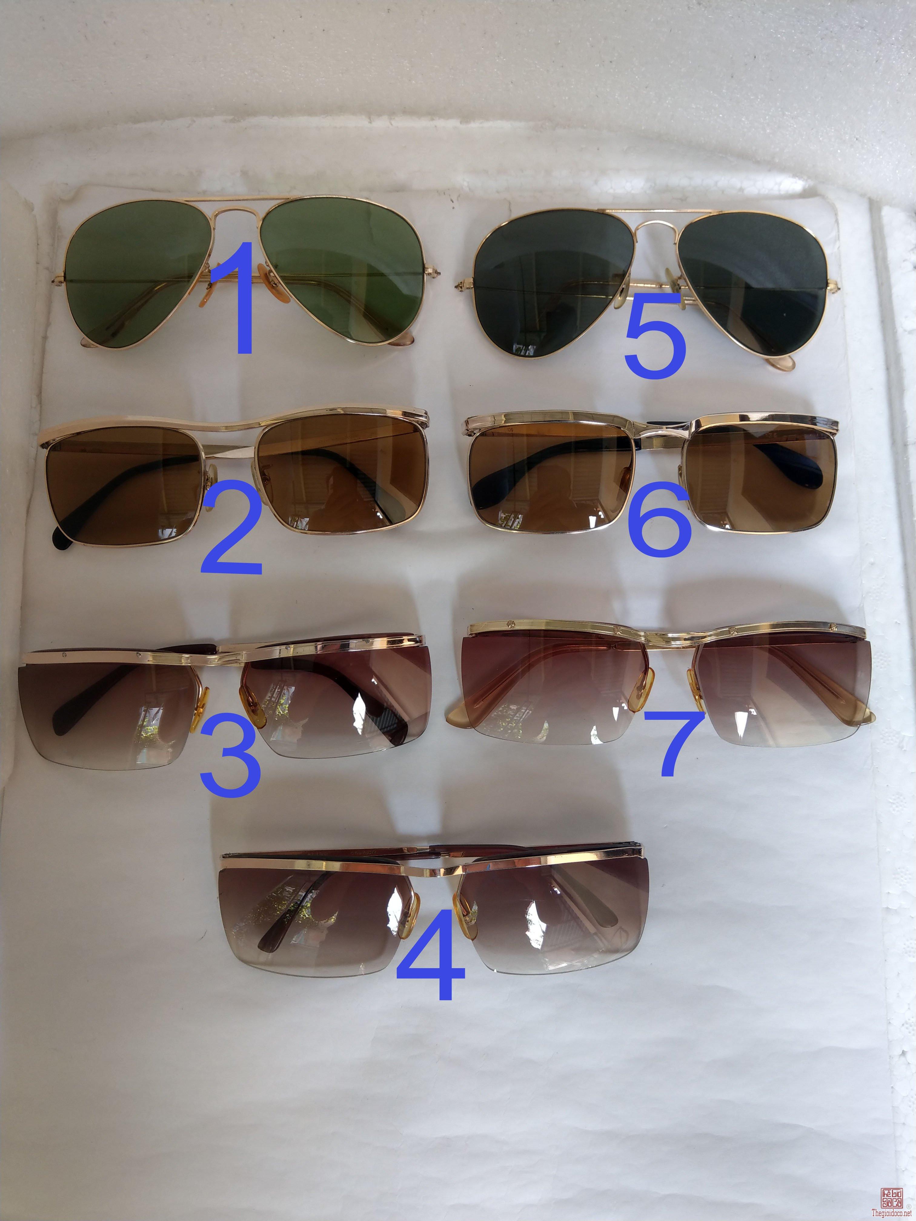 Giàn kính cổ mạ vàng bọc vàng có đầy đủ các thương hiệu nổi tiếng trên toàn thế giới..vv