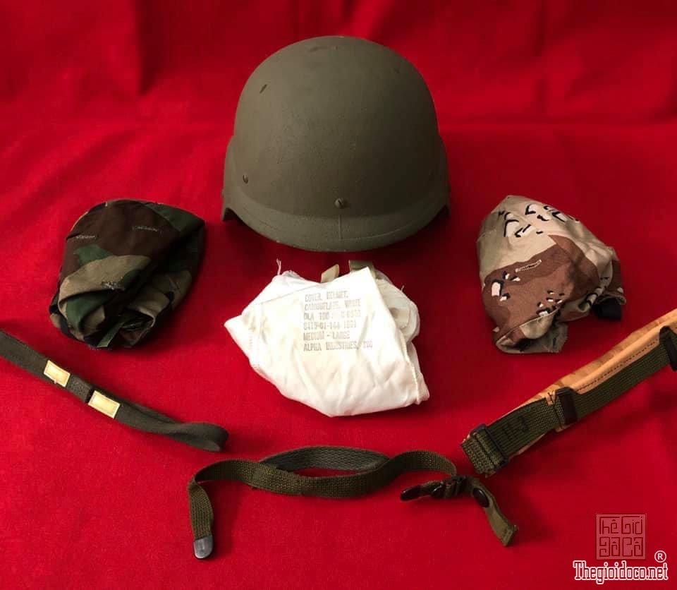 Nón cối US-PASGT trang bị cho thiện chiến HOA KỲ ra đời năm 1988 zalo: 0776218163