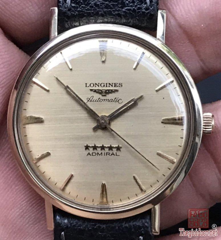 LONGINES XƯA Đại Tướng Quân 5 sao bọc vàng Gold Filled