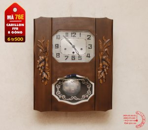 Đồng hồ Pháp hiệu Carilon FFR,...