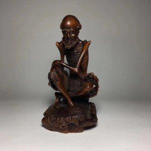 La Hán xương bằng gỗ Hoàng...