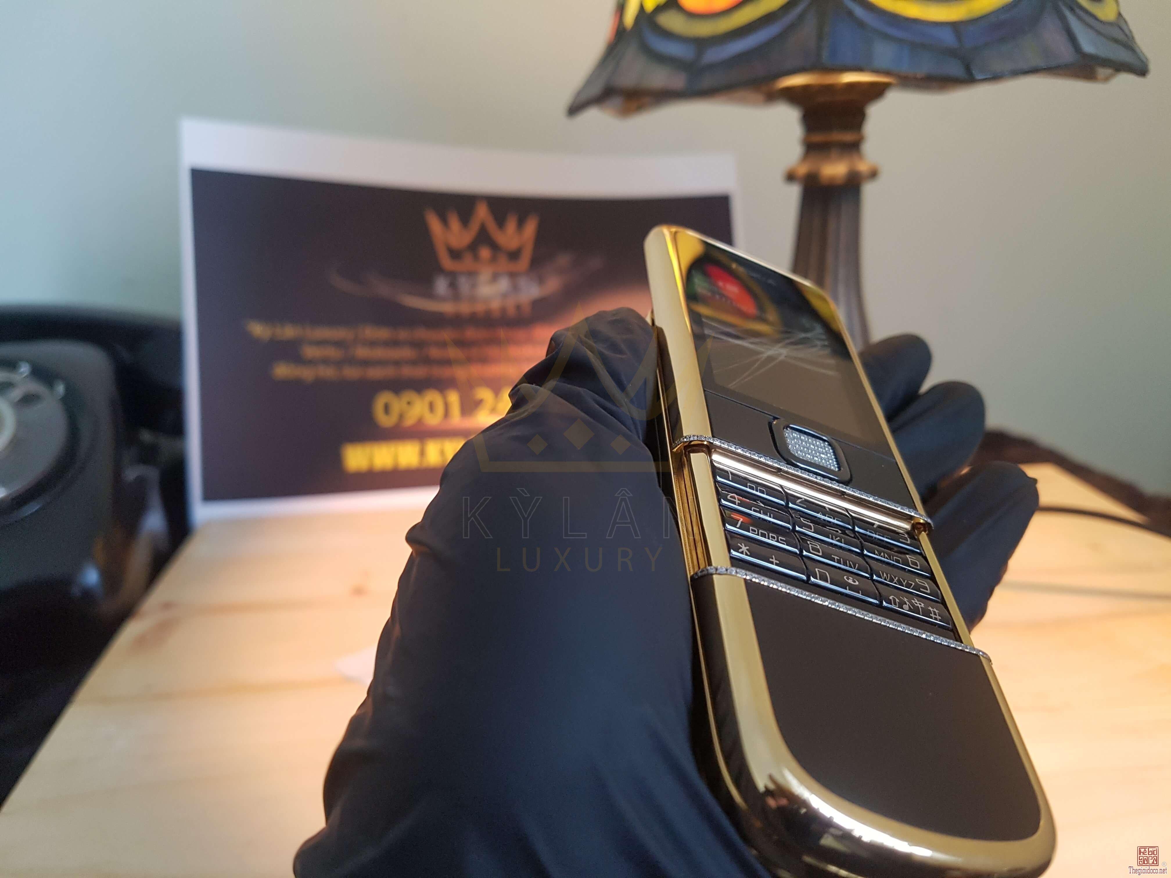 Nokia 8800 Diamond Gold Arter mạ vàng 24k máy like new