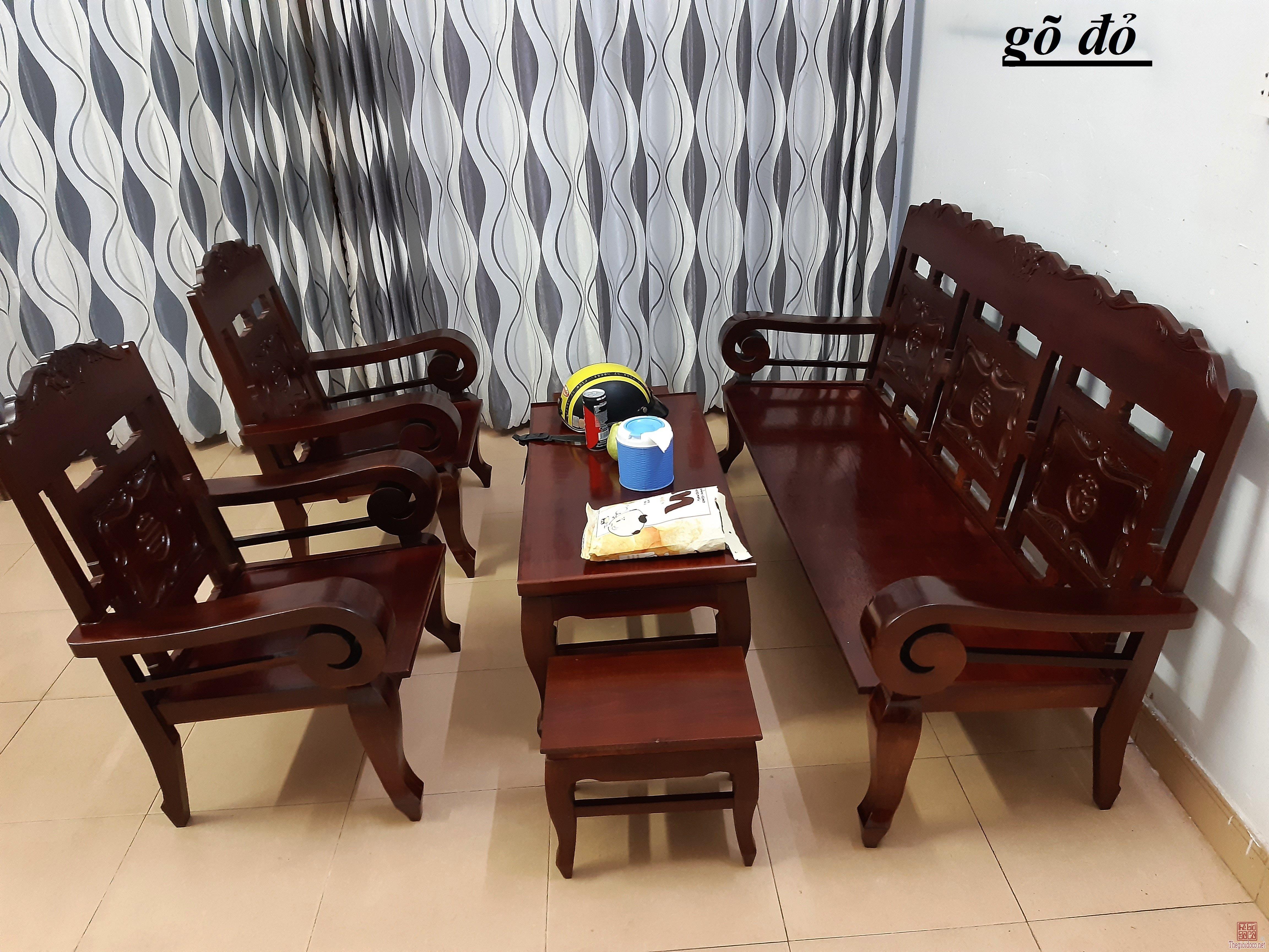 Bán bộ ghế xưa 6 món