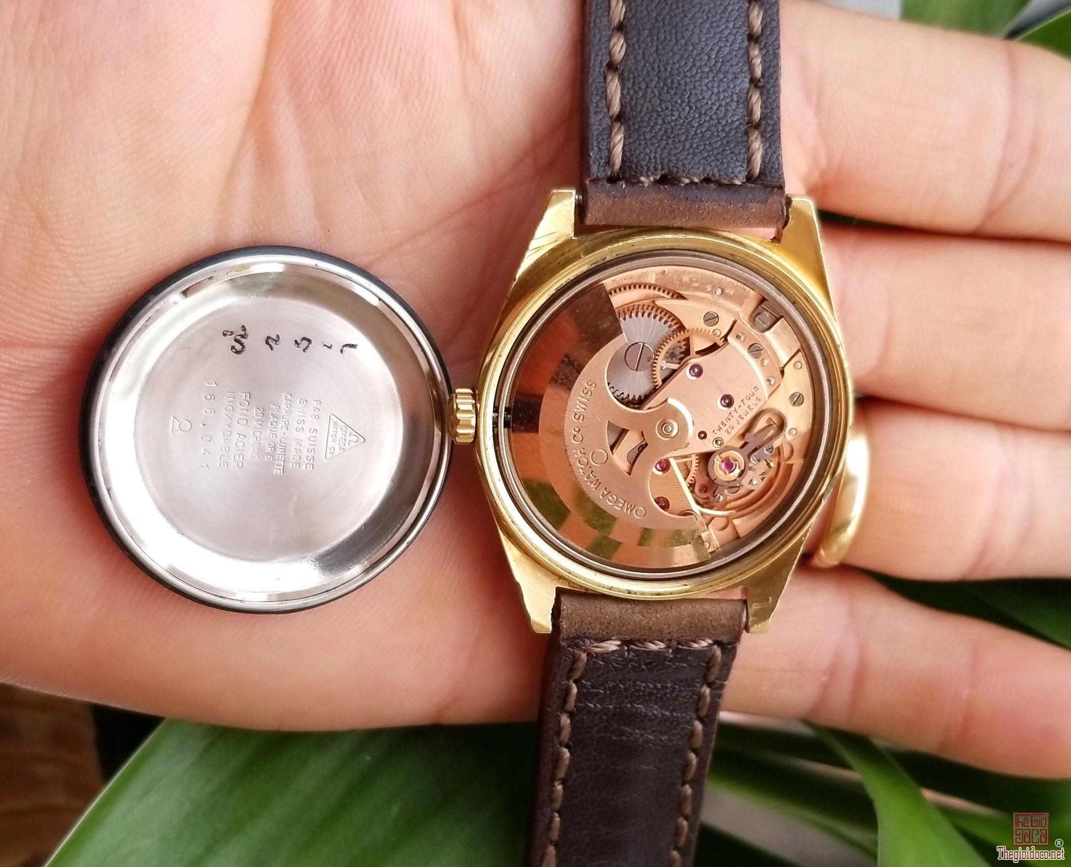 Đồng hồ xưa tự động OMEGA GENEVA Thụy Sỹ