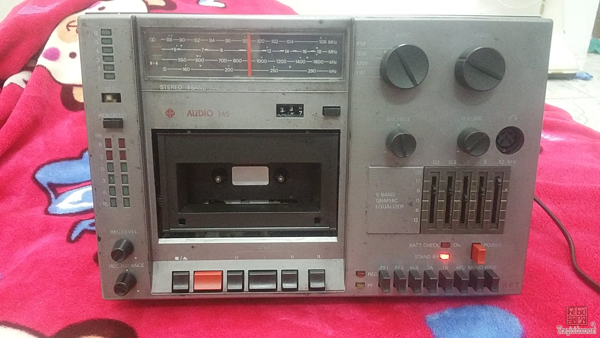 Cục giữa Radio Cassette RFT Audio 145 (Made in Germany)