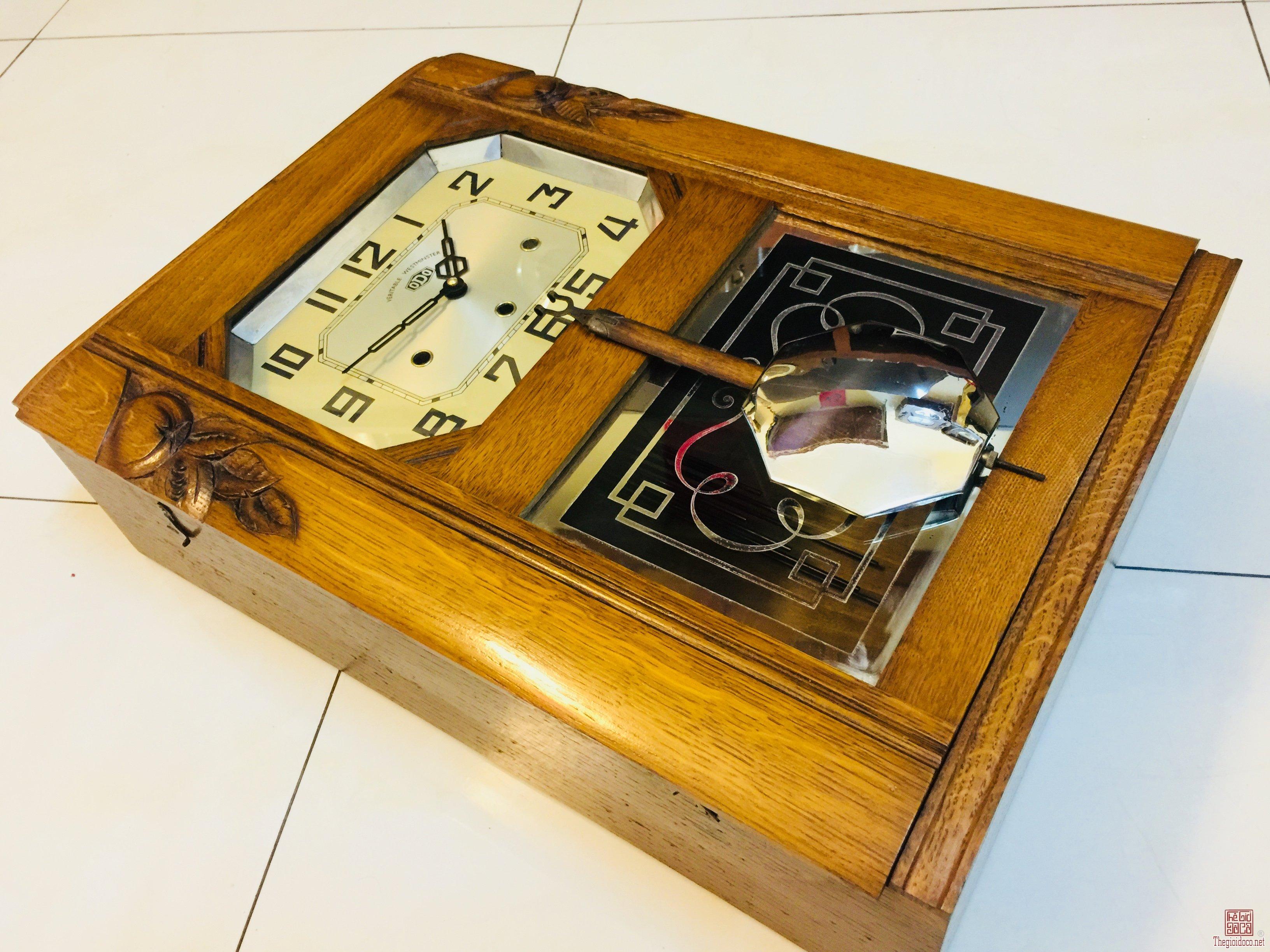 Đồng hồ Odo 54 Pháp rất đẹp, âm rất hay