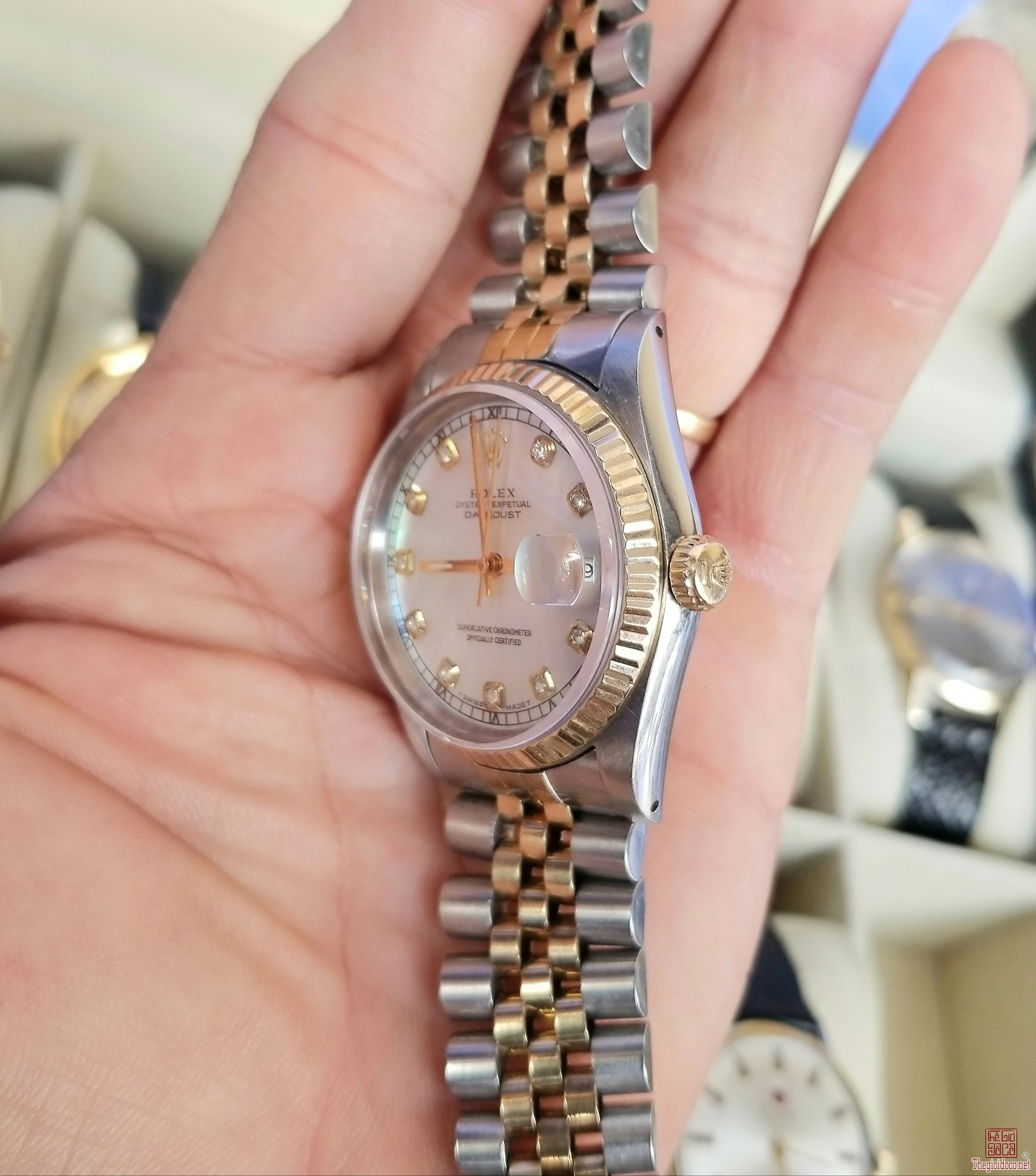 Đồng hồ tự động ROLEX 16233 Thụy Sỹ