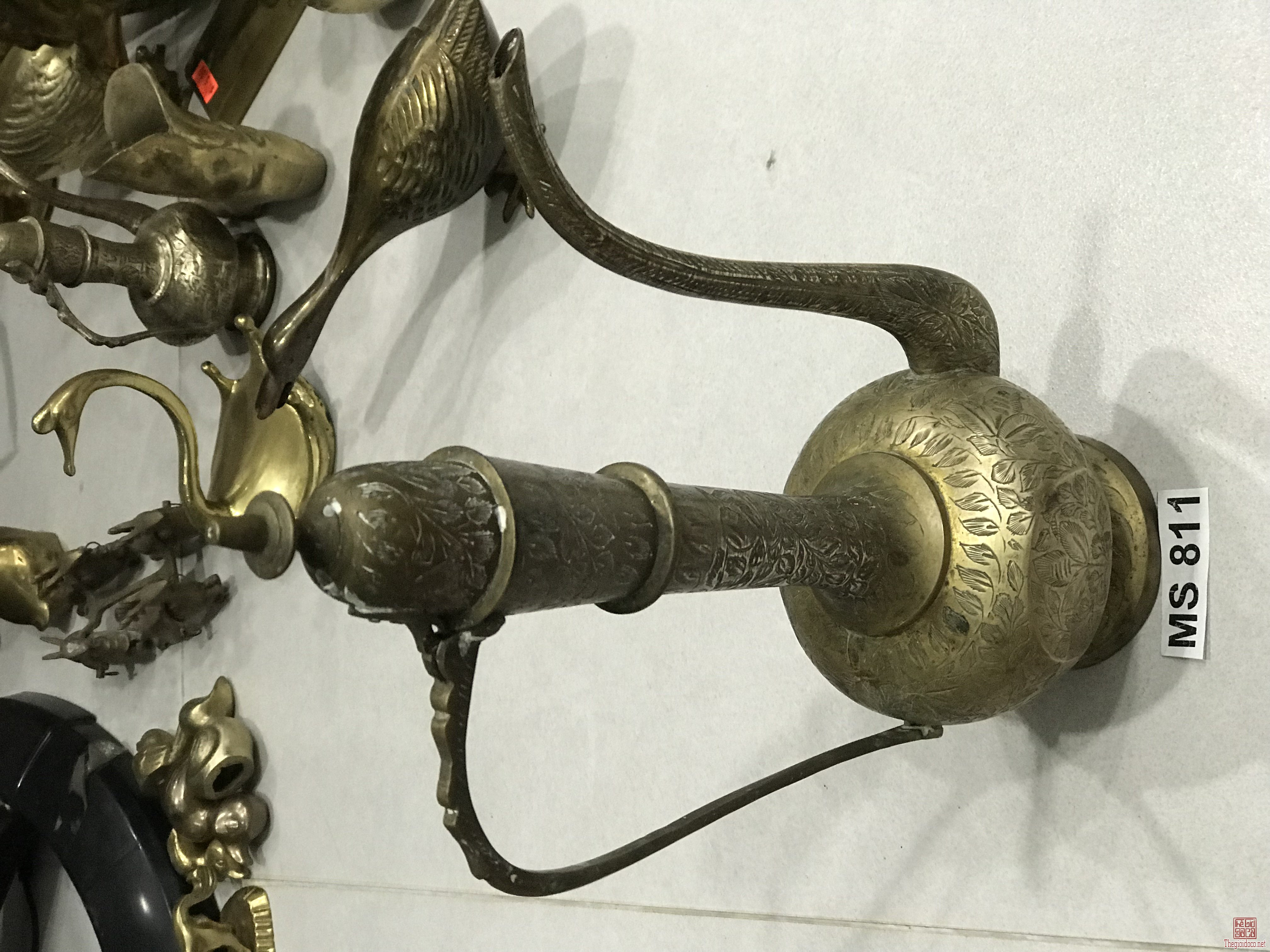 Bình ( MS 811)Bằng Đồng Đồ Xưa Hàng Zin Từ USA