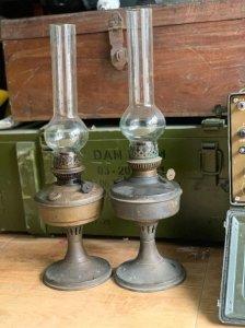 Đôi đèn đồng