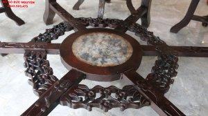 bàn ăn gỗ gụ - mai điểu 7 món (15).JPG