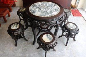 bàn ăn gỗ gụ - mai điểu 7 món (6).JPG
