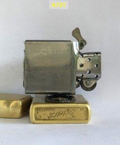 A731 -chữ xéo 1973 Brass tẩy...