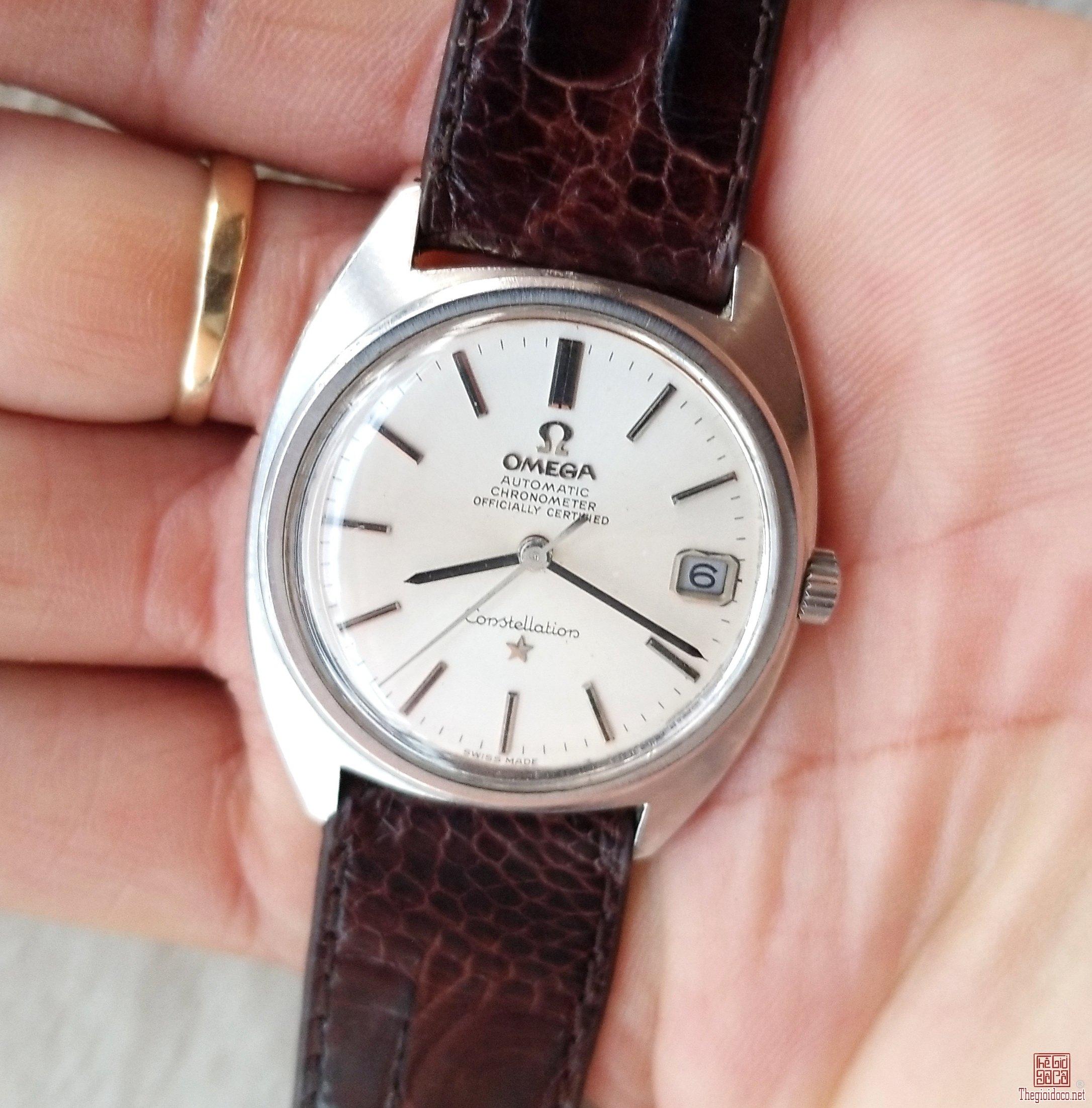 Đồng hồ xưa tự động OMEGA CONSTELLATION Thụy Sỹ