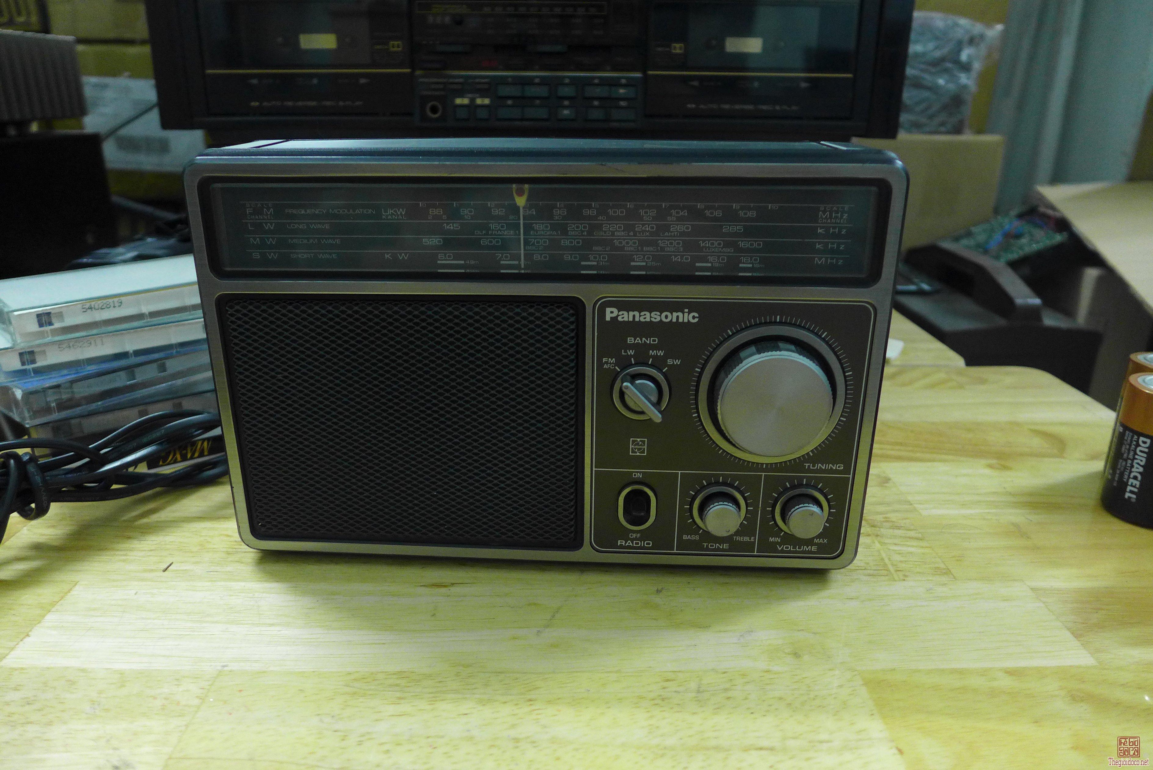 HCM - Q10 - Bán radio Panasonic 1105DLBE