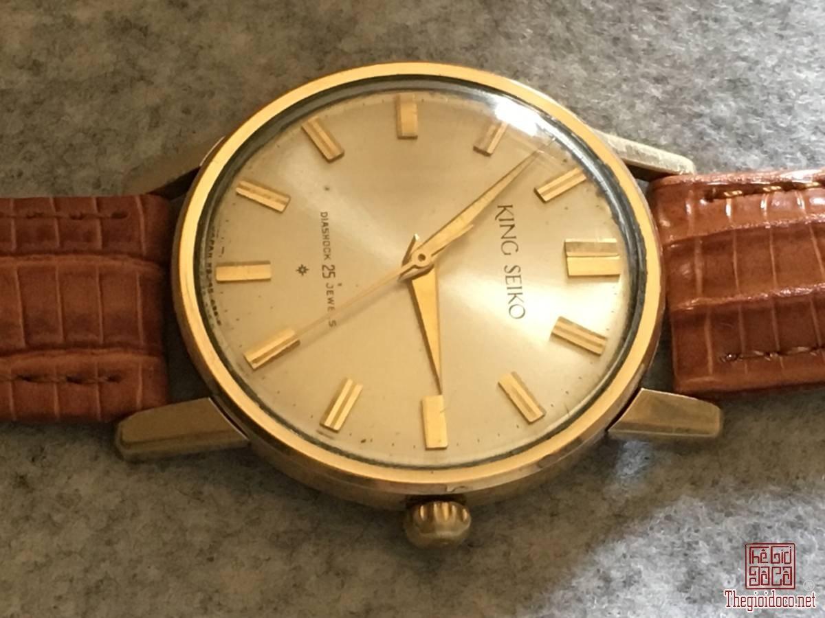Đồng hồ xưa king seiko 25jwe