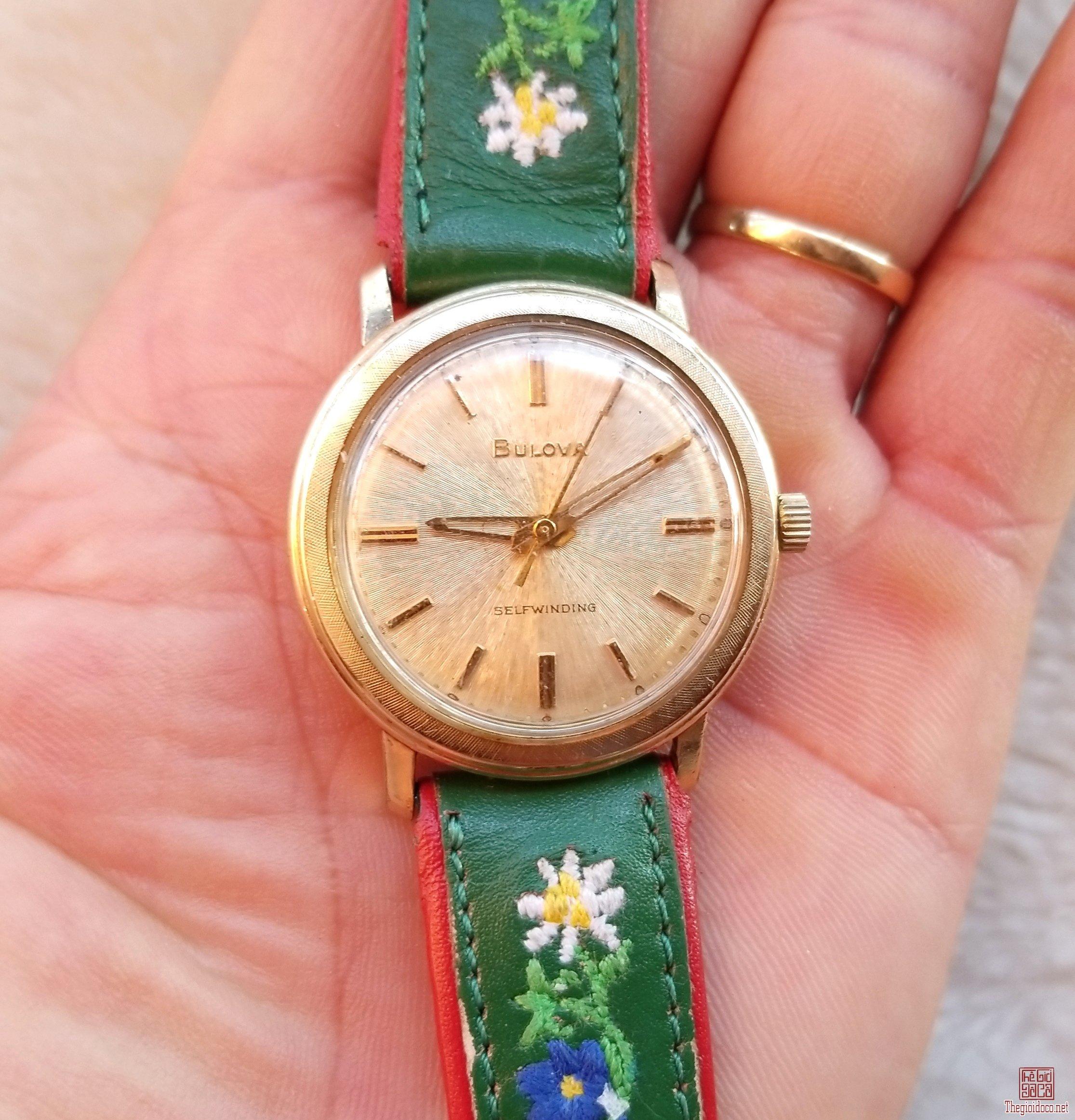 Đồng hồ xưa tự động BULOVA USA