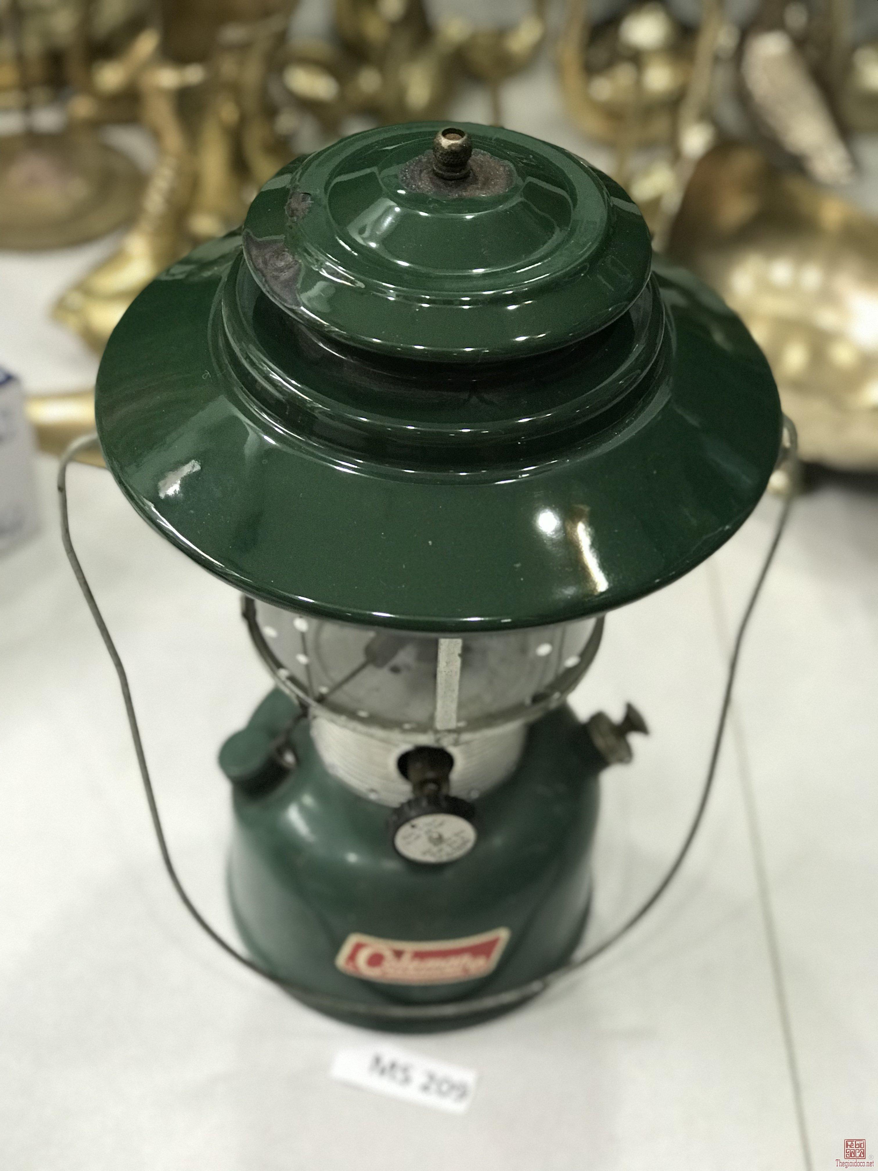 Đèn Măng Xông COLEMAN (MS 209) MADE IN USA Đồ Xưa Hàng Từ Mỹ