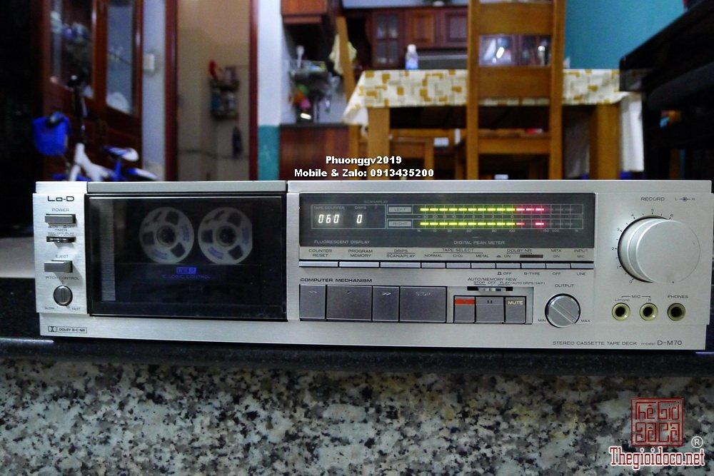 Đầu câm (Cassette Decks) các loại giao lưu! - 46