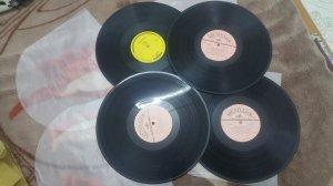 4 đĩa than LP tiếng hát Quê...