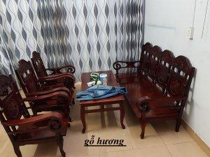 Bộ ghế xưa gỗ hương