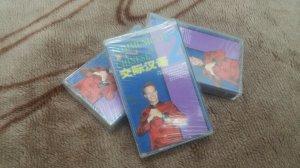 3 cuốn băng Cassette mới nguyên...