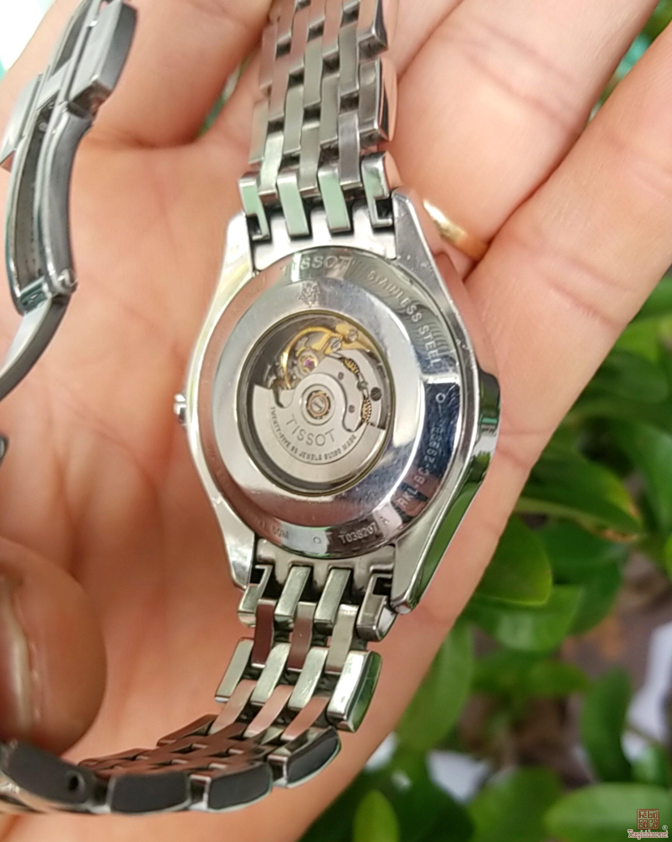 Đồng hồ tự động TISSOT Lộ máy Thụy Sỹ