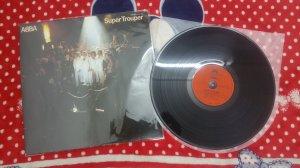 Đĩa than LP ABBA - có bài Happy...