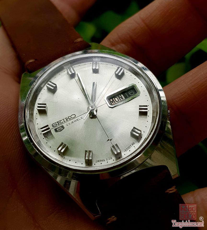 Seiko vintage automatic 5126