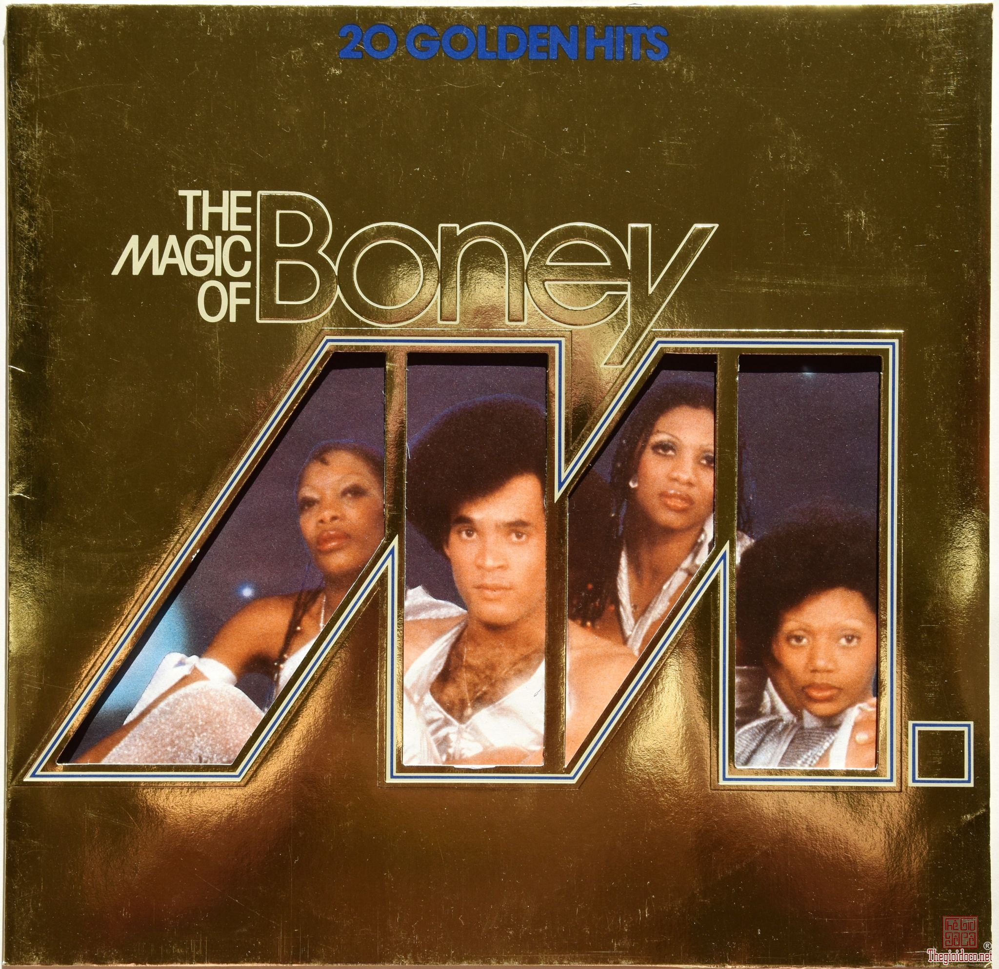 Đĩa than LP Boney M (20 Golden Hits - The Magic Of Boney M) Giá bán = 800 nghìn đồng