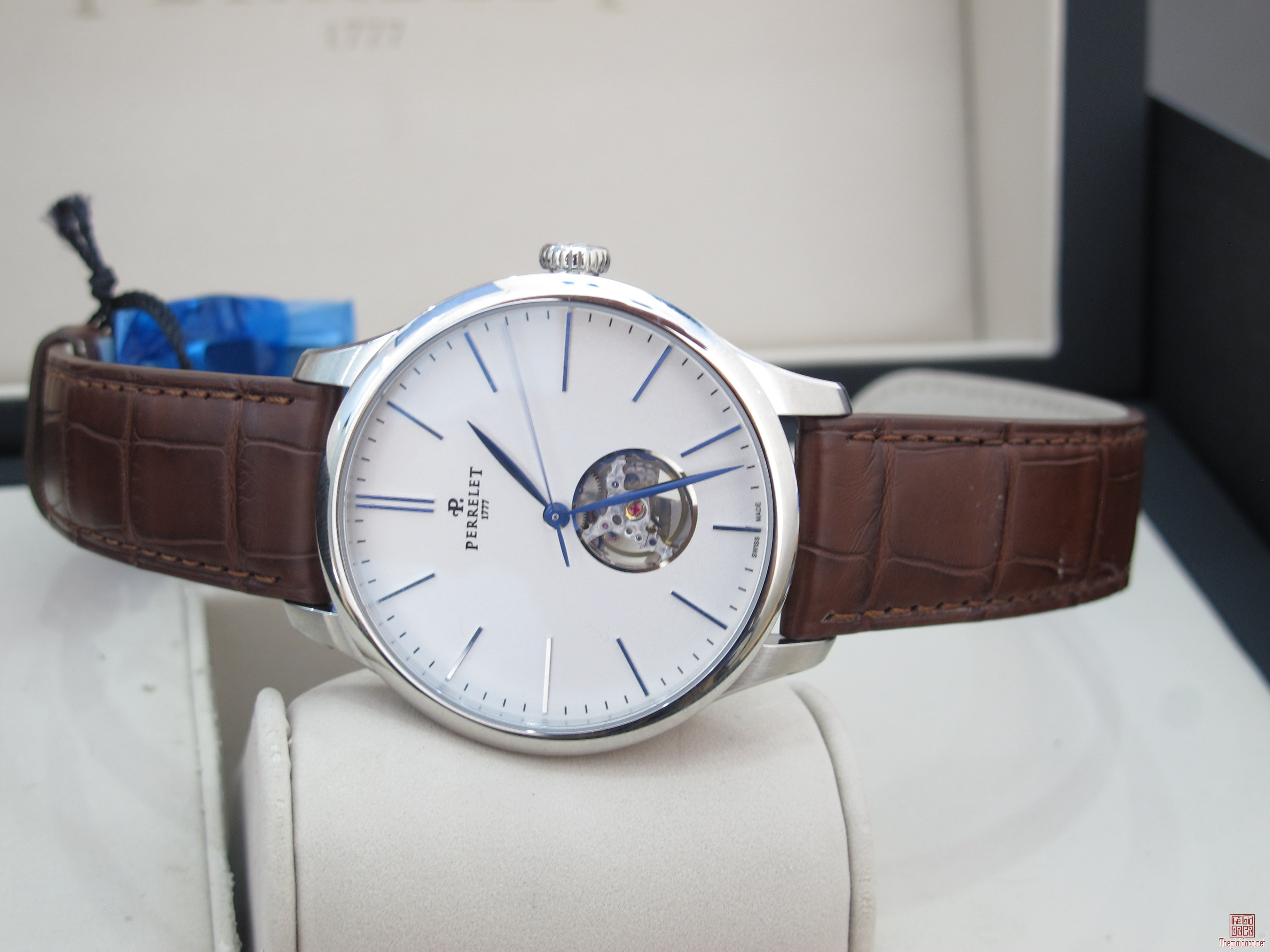 Đồng Hồ PERRELET A1087/4 Automatic fullbox Size 42.5 mm New 100%